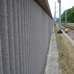 A traditional and reliable form of noise protection: wood-concrete soundproof barriers