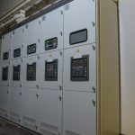 General low voltage panel, the electrical backbone of the funicular.