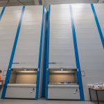 Our automoted storage and distribution unit, Kardex, where over 6000 pieces are stored in.